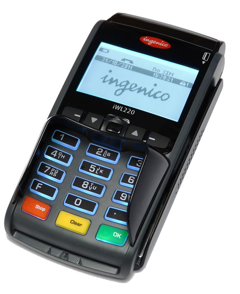 ec cash terminal ingenico iwl220 mobil ec cash direkt. Black Bedroom Furniture Sets. Home Design Ideas